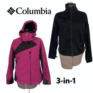 Columbia 3-in-1 Interchange Winter Jacket